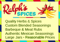 Buy herbs and spices, custom seasonings, BBQ and meat rubs, authentic Mexican seasonings. Large jars at reasonable prices.