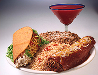 Enjoy a wine marguerita of perfectly chilled Negro Modelo with your delicious Mexican food at Guadalajara Grill in Taos, New Mexico
